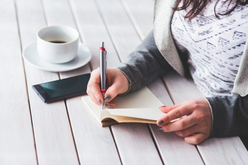 woman-journaling