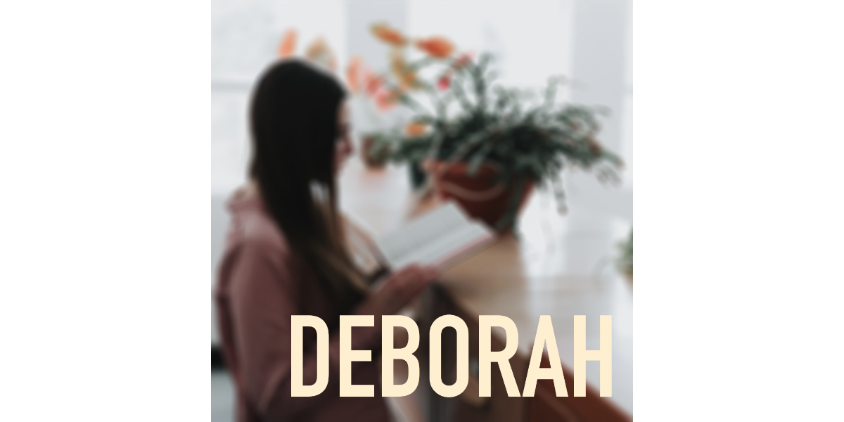 deborah is one of the women in the bible that had a career