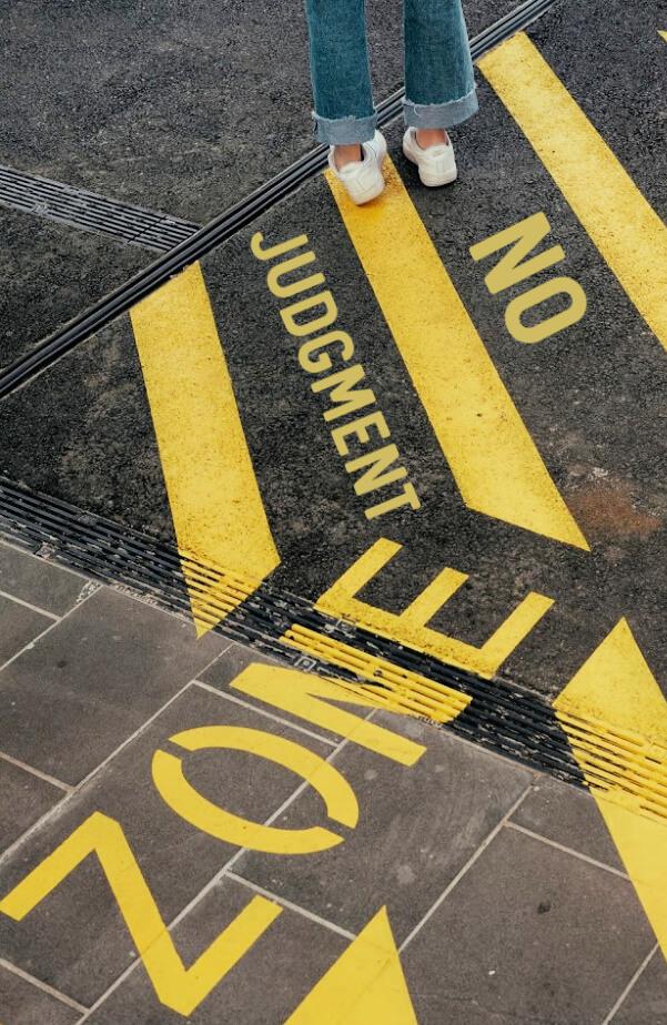 no judgement zone for women