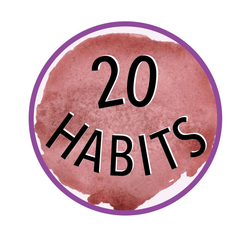 20 habits icon