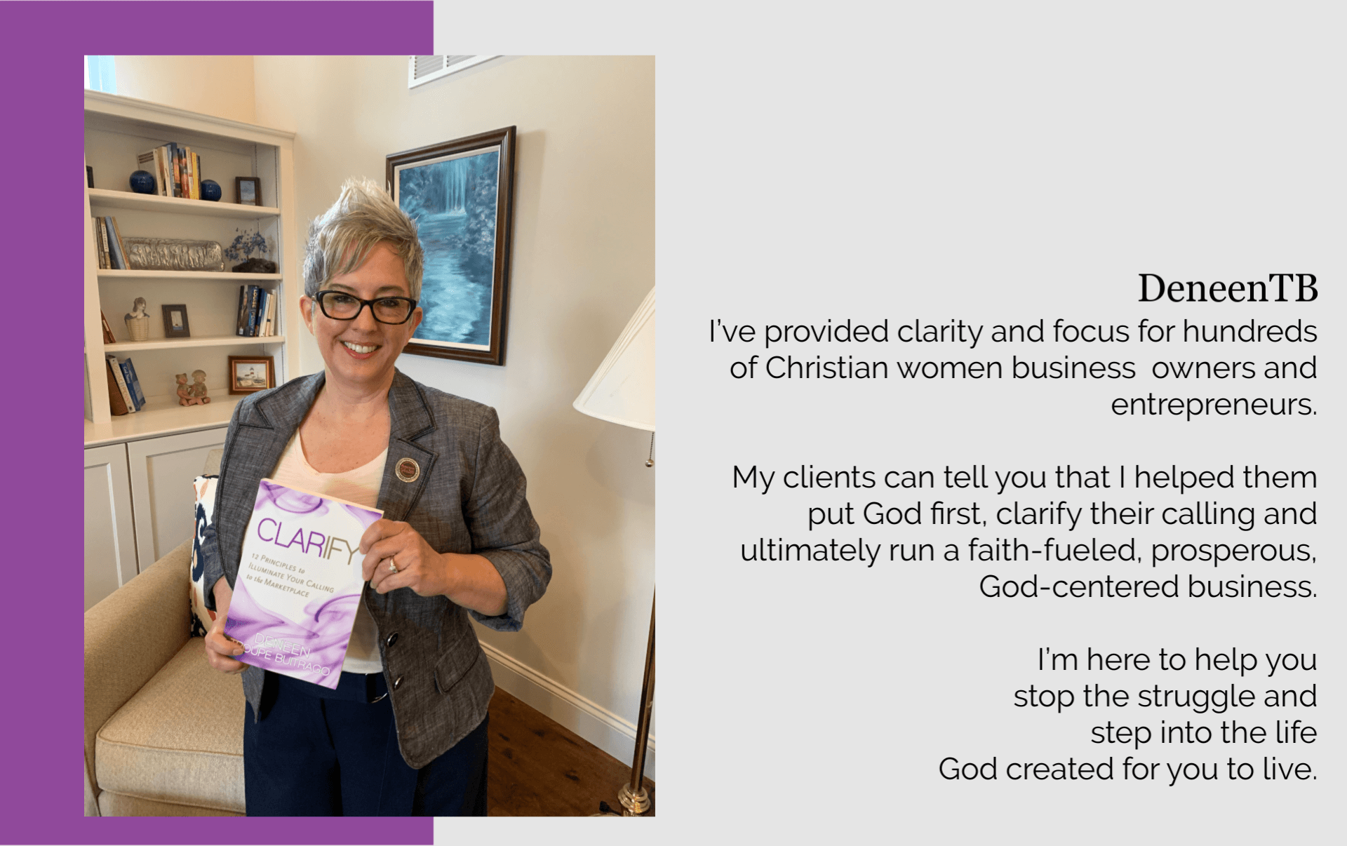 deneen christian clarity coach