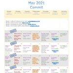 Image of May Scripture calendar